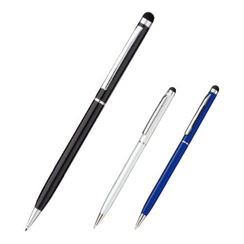 販促STYLE タッチペン付メタルスリムペン